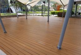 Yellow Monterrey y NewTechWood deck 29