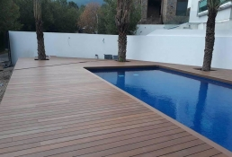 Yellow Monterrey y NewTechWood deck 30