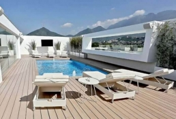 Yellow Monterrey y NewTechWood deck 6
