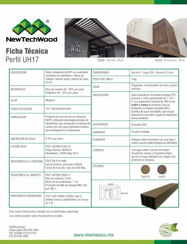 NewTechWood UH17